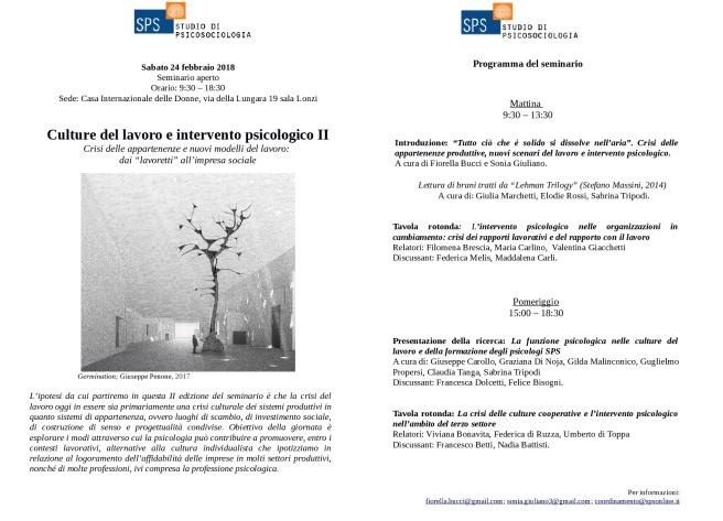 Locandina Seminario Culture Lavoro 24 febbraio 2018-001